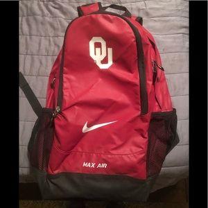 University of Oklahoma OU backpack